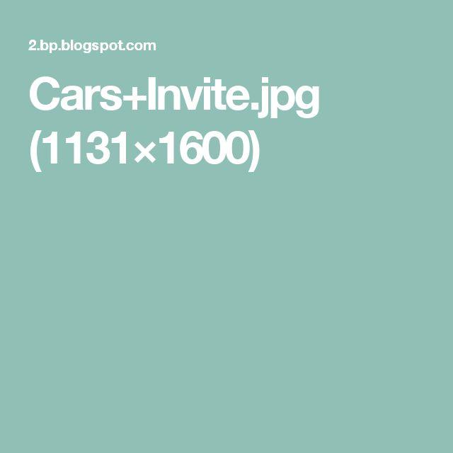 Cars+Invite.jpg (1131×1600)