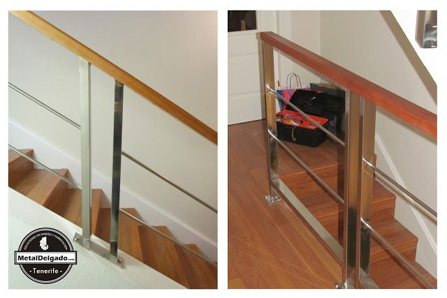 Mejores 27 im genes de barandas acero inoxidable tenerife - Modelos de escaleras de madera ...