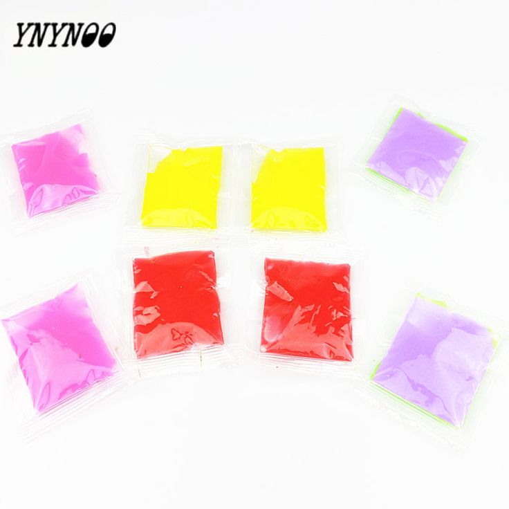 YNYNOO 5 pcs Funny Vomiting egg yolk Slime Color toy for adults New Fun Slime Putty Sand Gelatin relieve stress Pinch Slime Toys #Affiliate