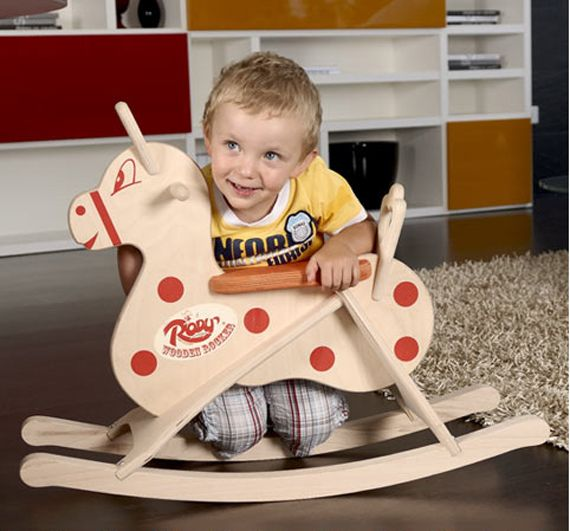 Rody Wooden Rocking Horse