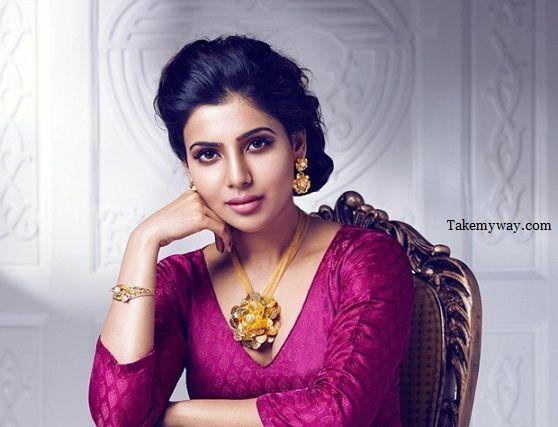 Samantha Ruth Prabhu Hot & Bold Photoshoot In Saree 2015 (4)