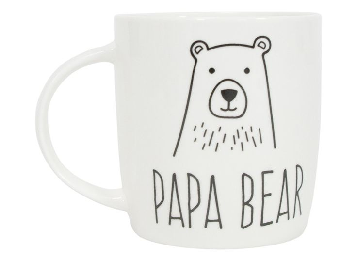 COFFEE+MUG+-+DAD+PAPA+BEAR+-+Enjoy+some+quality+time+with+Dad+over+a+nice+warm+drink+or+perhaps+some+soup+from+one+of+our+hip+new+mugs.+
