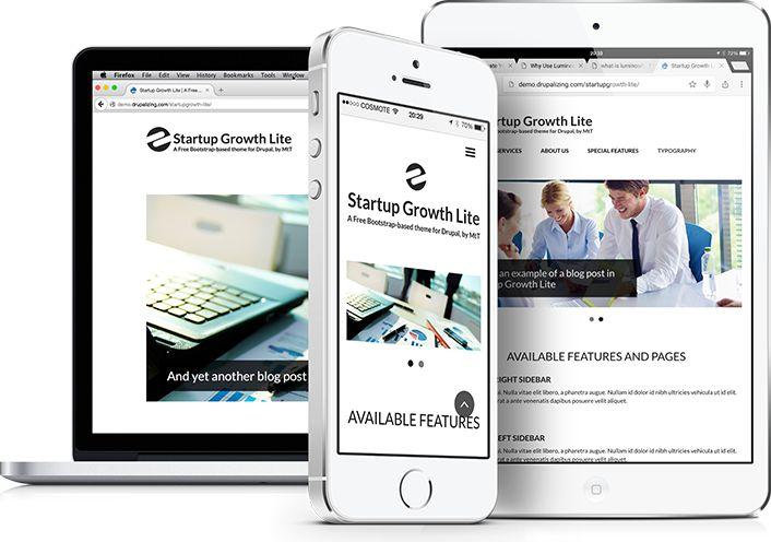 Startup Growth Lite | Drupal.org