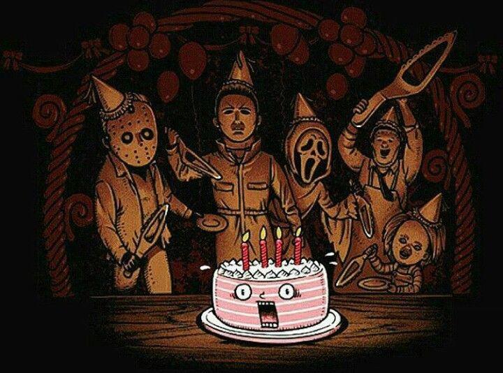 Geburtstag Horror