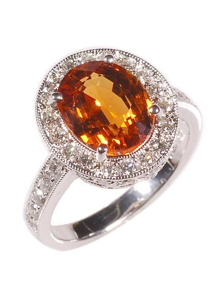 i have the mandarin garnet, just not this syle. mine is emerald cut, but just as beautiful....