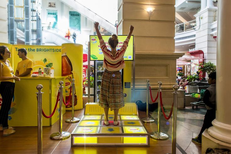 Taste the Brightside | Lipton Dance Machine | Sampling Mall Activation