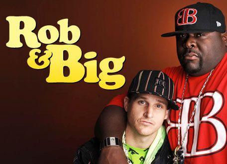Rob & Big...the best reality show ever!  I have never laughed so hard in my life.  I own all 3 seasons on dvd.  I would LOVE for them to come back!