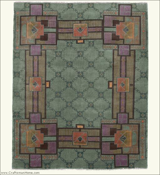 Arts And Crafts Rugs Pottery Barn: 17 Best Images About Craftsman: Rugs On Pinterest