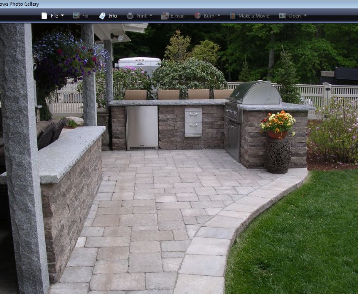 36 best images about patio on pinterest layout design for Back garden patio designs