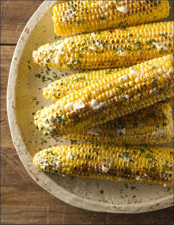 Grilled Corn on the Cob with Honey Butter | 15 Vegetarian Recipes For The Ultimate Australia Day BBQ