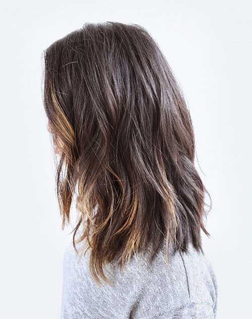 Choppy Haircuts for Wavy Hair