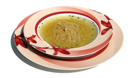 Want a quick and easy #BabyRecipe? Try our Chicken Noodles for baby dish! Click for the handy recipe! #BabyFood