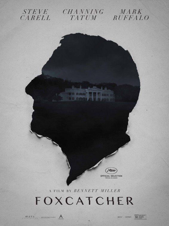 Foxcatcher (2014) - The true story of Olympic Wrestling Champion Mark Schultz who decides to get justice after schizophrenic John duPont killed his brother, Olympic Champion Dave Schultz.
