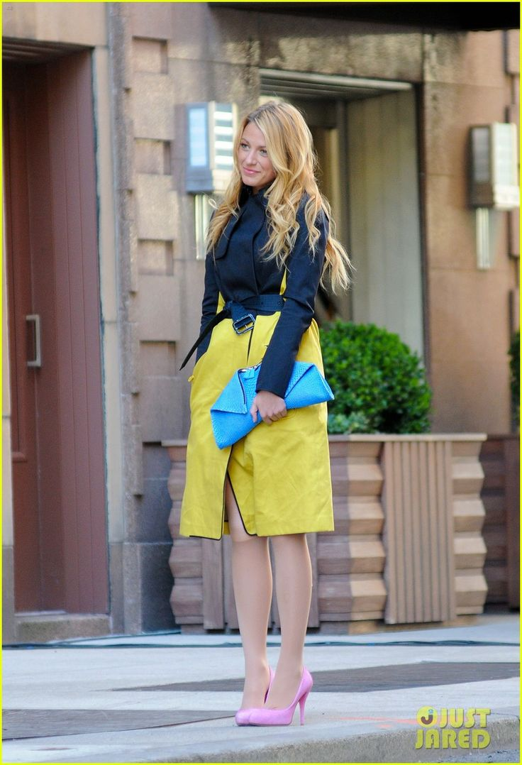 One of Serena's upcoming Gossip Girl outfits