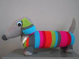 Encontrei um blog Holandês que é uma loucura!  Selecionei algumas imagens de bichos em crochê que são divertidos e graciosos, confira comigo...