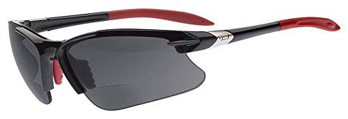 8846995f92 Dual Eyewear SL2 Pro Sunglasses 15 Power Magnification Black FrameGray Lens     Want to know more
