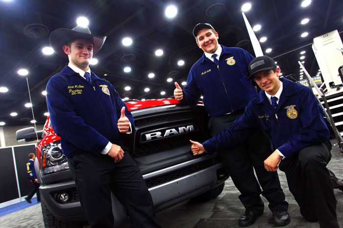 Ram Trucks Supports FFA Scholarships