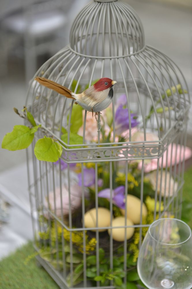 Birdcage Centrepiece 3
