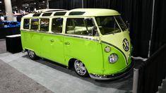 VW Bus Lime