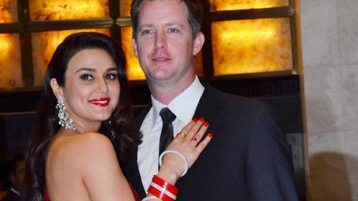 Stars attend Preity Zinta, Gene's wedding reception  On Friday, the couple organised a reception in Mumbai for her friends from the industry which was attended by many Bollywood stars, including Salman Khan and Sha Rukh Khan.  View More > http://goo.gl/CBLREO #preity #gene #wedding #celebrity #star #preityzinta