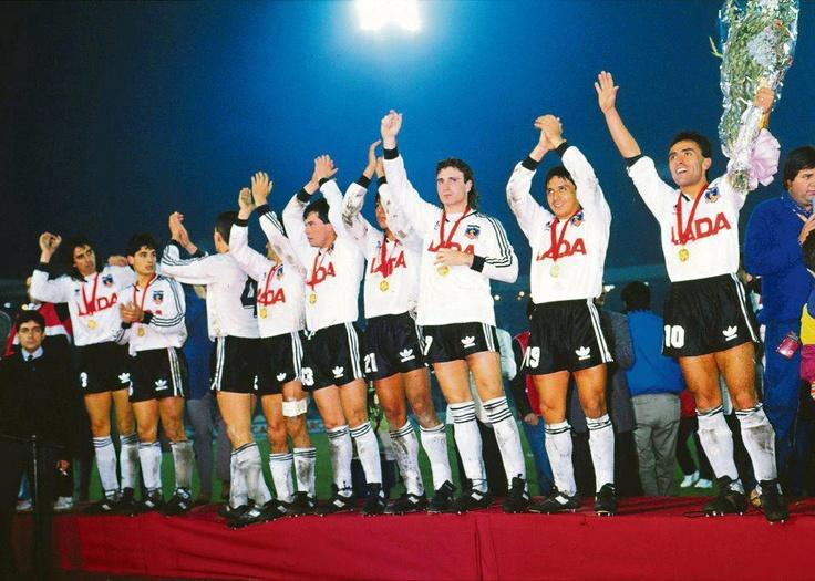 Colo Colo Campeón de Copa Libertadores en 1991.