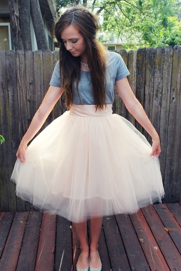 I Want To Make Tulle Skirts For All My Girls A Night Out