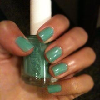 My new #Essie color. Turquoise & Caicos.