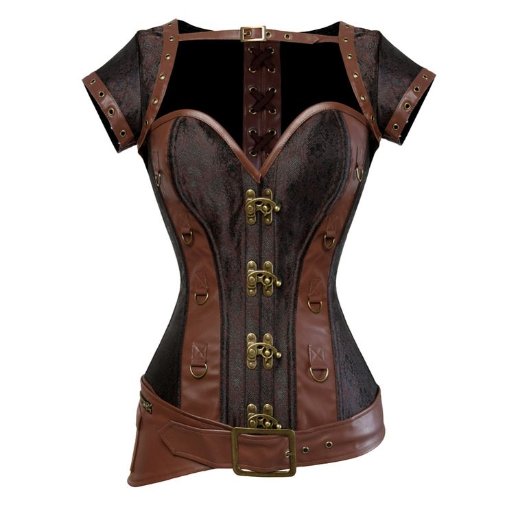 Cheap corset clearance, Buy Quality bustier lingerie directly from China corset tops to wear out Suppliers: Steampunk Corset Burlesque Clubwear Lace up Boned with Chains Gothic Clothing Plus Size S-6XLUSD 16.99-17.99/piece