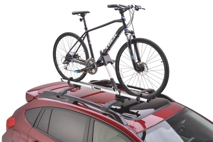 Yay, bought two for the twins cross bikes! Subaru Thule Bike Carrier – Roof Mounted