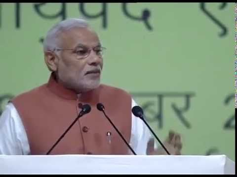 Modi narrates his experience of utilizing Ayurveda and cites some practical examples in the 6th World Ayurveda Congress & Arogya Expo.