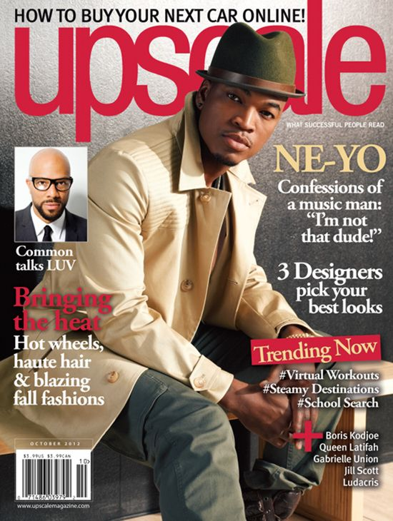 Ne-Yo Covers UPSCALE Magazine, Talks Not Being Thirsty For Fame | The Young, Black, and Fabulous