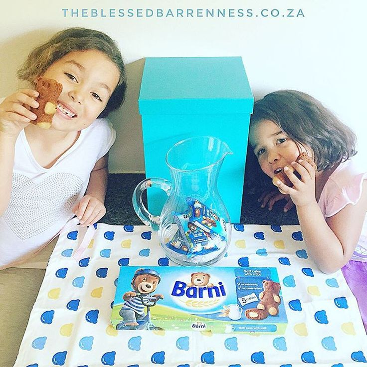There's a #BarniBear picnic happening in my kitchen right now after my girls…