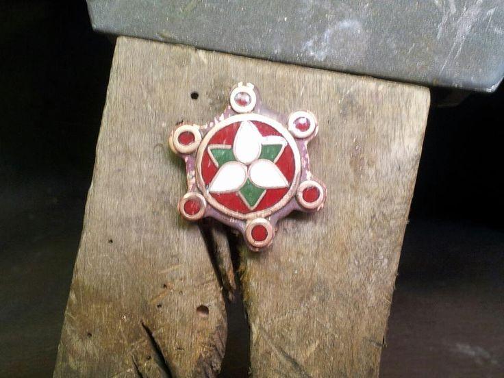 Saxon style brooch