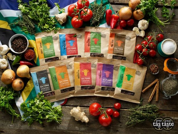 Biltong Variety Packs - Flavour Fest - 6x35g Bags by The Chichester Biltong Company on Gourmly