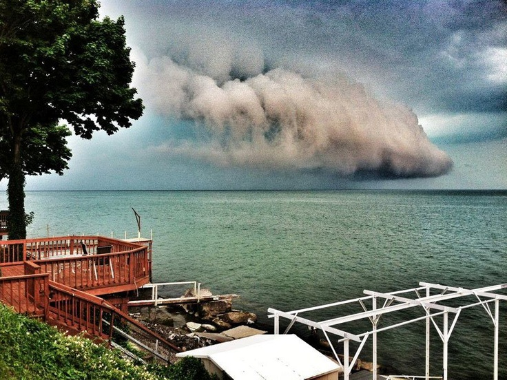 6/18/12 - Lake Erie just off of Lorain, OH.  from WKYC Weather Warrior Russell M.