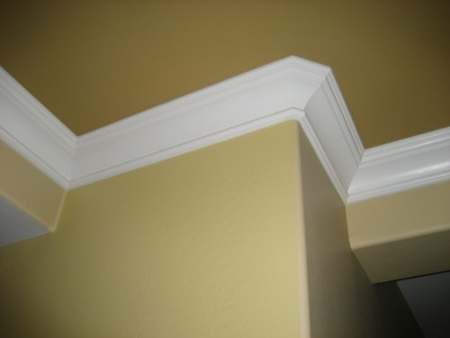 7 Quot King George Crown Moulding On Bullnose Drywall Corner