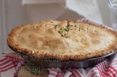 Apple Pie with Lemon Thyme and Ginger Recipes
