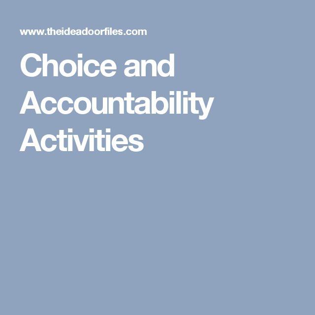 Choice and Accountability Activities