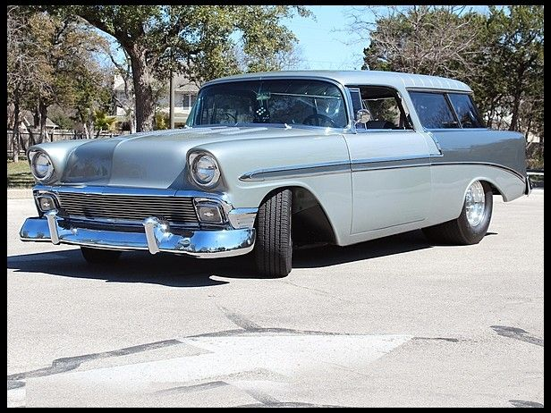 153 best 56 chevy images on pinterest vintage cars antique cars 1956 chevrolet nomad street rod 350 ci automatic presented as lot at houston tx 2013 sciox Choice Image