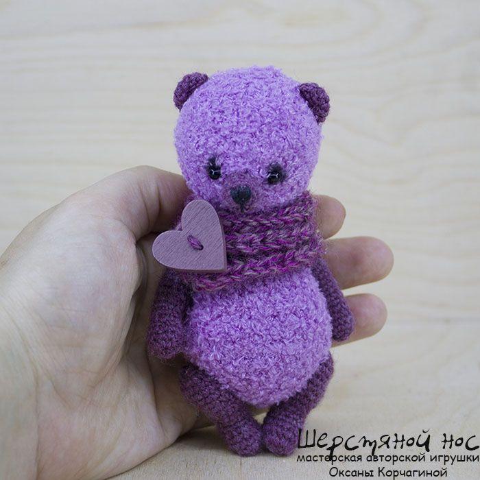 Лилу - Вязаная мишка