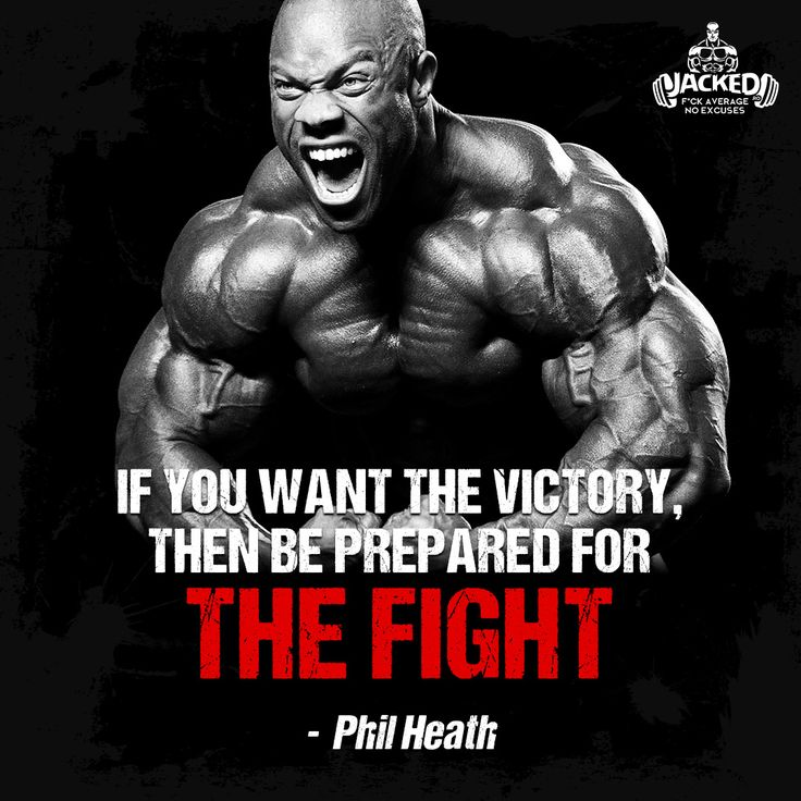 """If you want the victory, then be prepared for THE FIGHT."" -  Phil Heath  #victory #prepare #fight #motivated #dedicated #jacked #bodybuilding  #philheath"