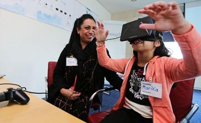 Virtual reality to make an impact