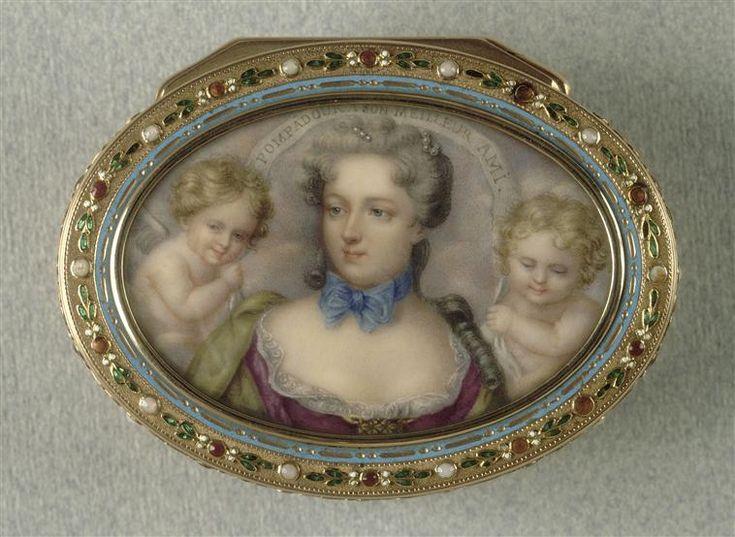 Réunion des musées nationaux, portrait of Mme de Pompadour