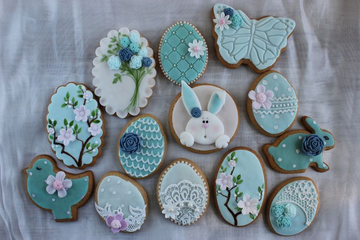 https://flic.kr/p/s78vWG | Easter decorated cookies