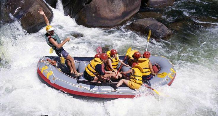 Rapid rafting in Australia - luxurious adventuring!