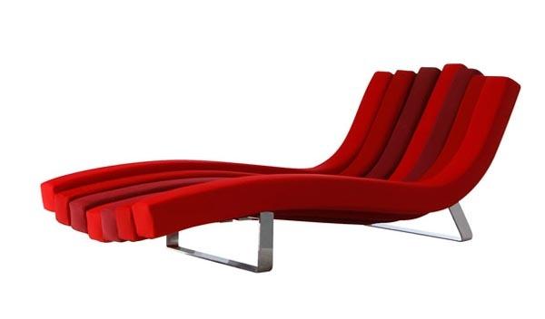 Roche bobois vitamine chaise lounge design living room for Chaise longue roche bobois