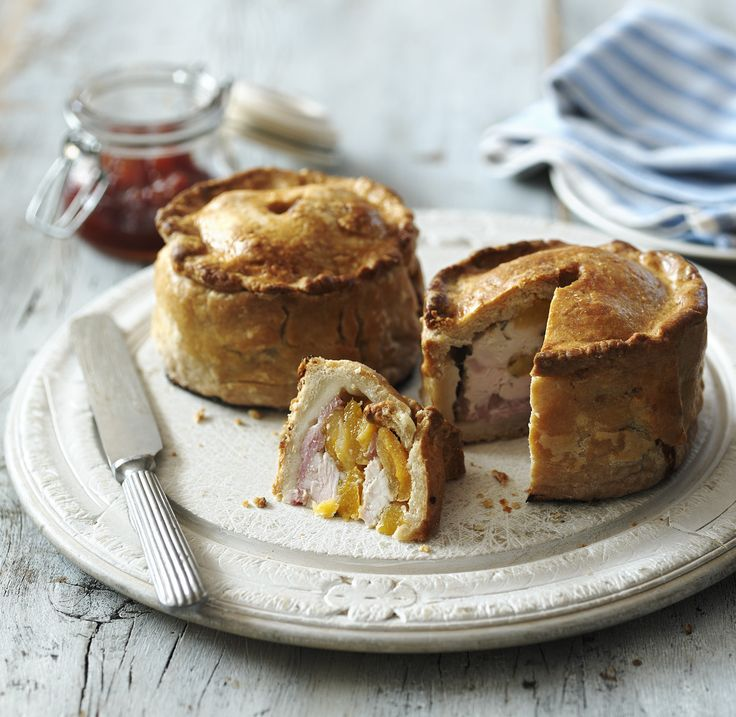 Now for something properly delicious from Paul Hollywood: hand-raised chicken and bacon pies