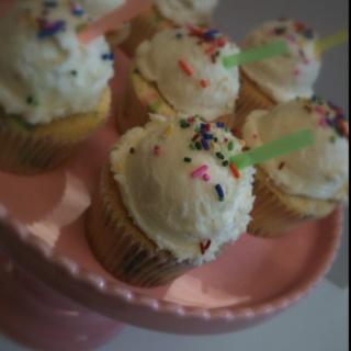Vanilla Shake Cupcakes by Cake Couture Honolulu!