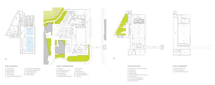 Galería de Hall Atlético y Centro de Bienestar Branksome / MacLennan Jaunkalns Miller Architects - 22