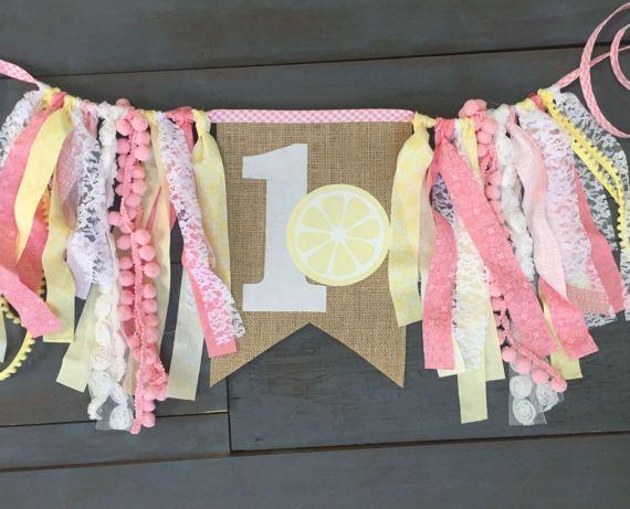 Pink Lemonade One First Birthday Party by MsRogersNeighborhood